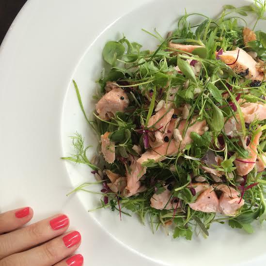 Salad at 108 Marlebone Lane