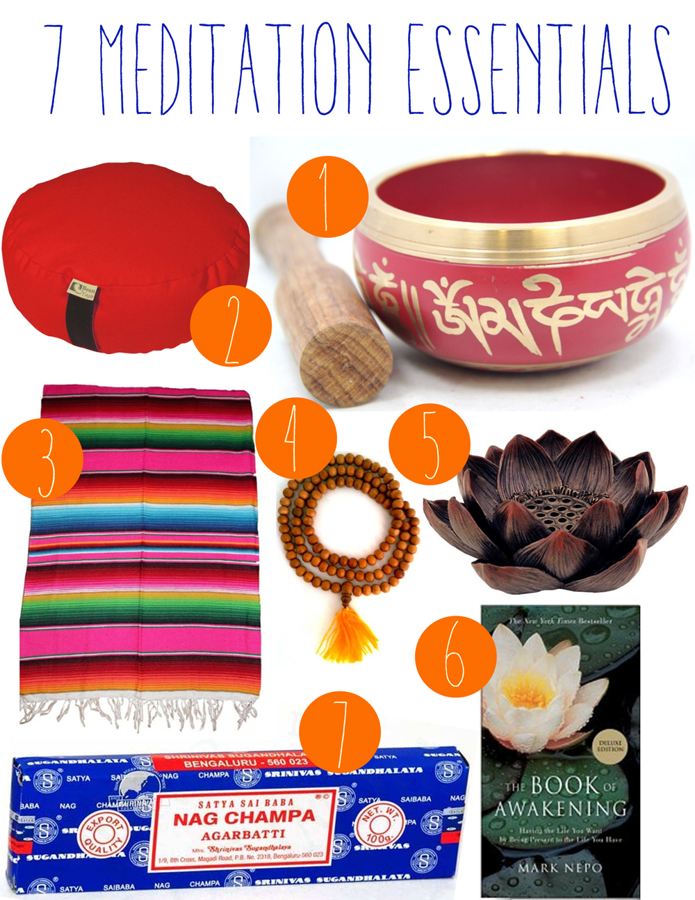 Pin it! 7 Essentials to take your meditation space to the next level