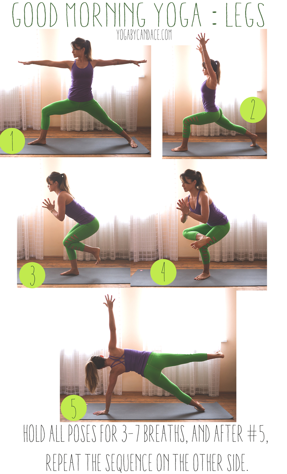 Pin it now, practice later! Wearing: Kira Grace pants, Athleta top. Using: black mat pro.