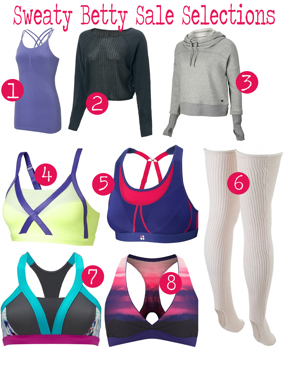 Sweaty Betty Sale Selections!