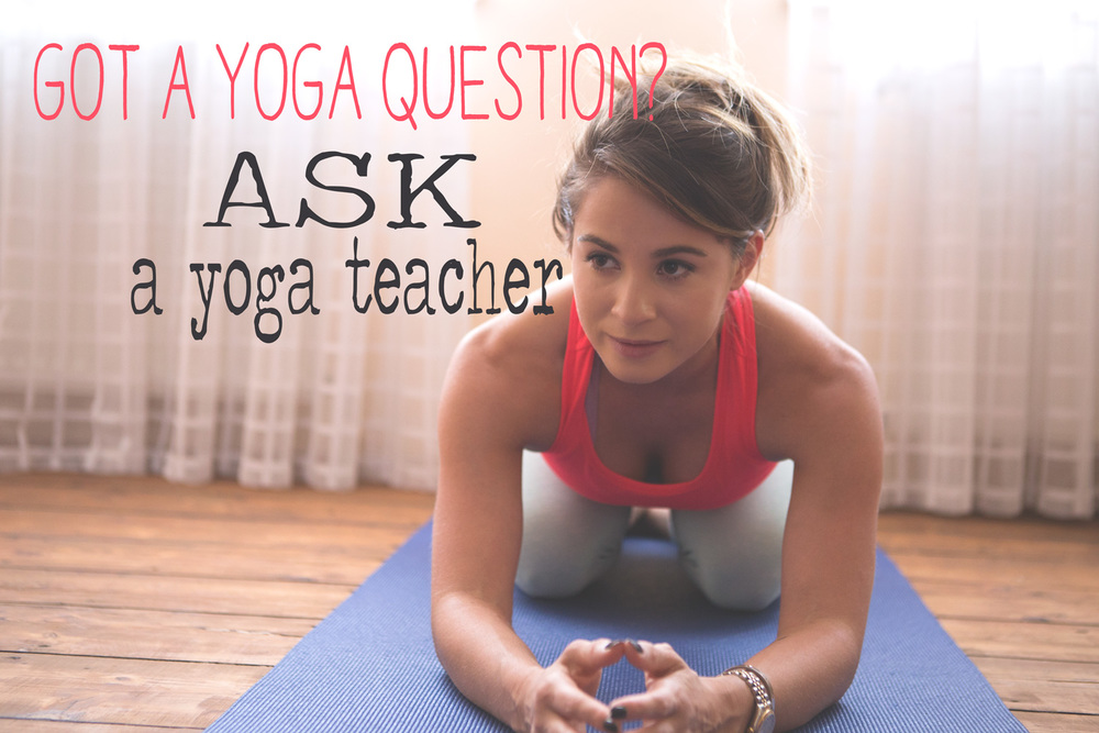 Pin it, and ask your yoga question on this blog.