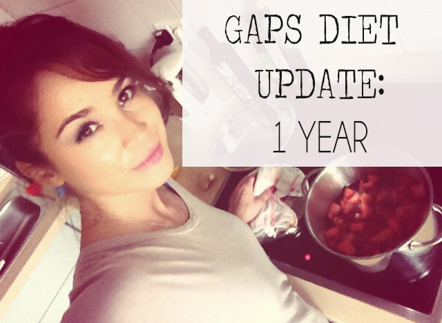 1 year on the GAPS diet to heal my stomach from longterm antibiotic use