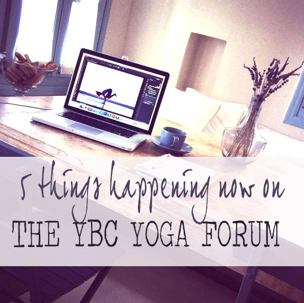 Pin now and join the YBC Yoga Forum where you can connect with health conscious people