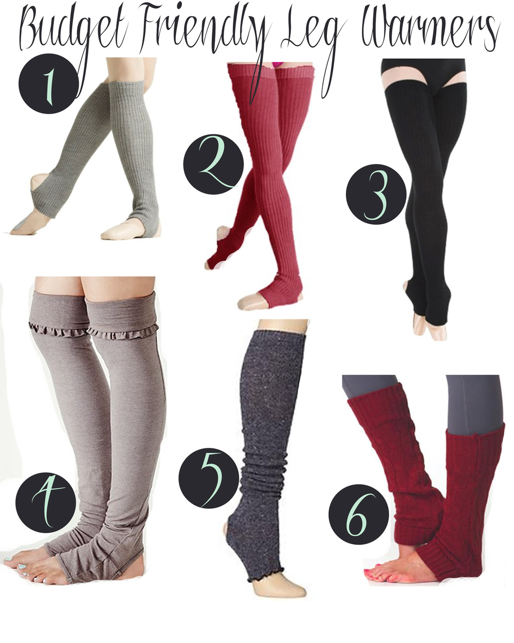 Pin it! Leg warmers