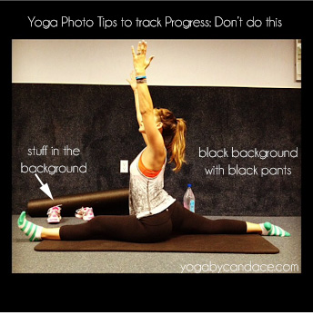 Pin it, and learn how to track your flexibility in yoga