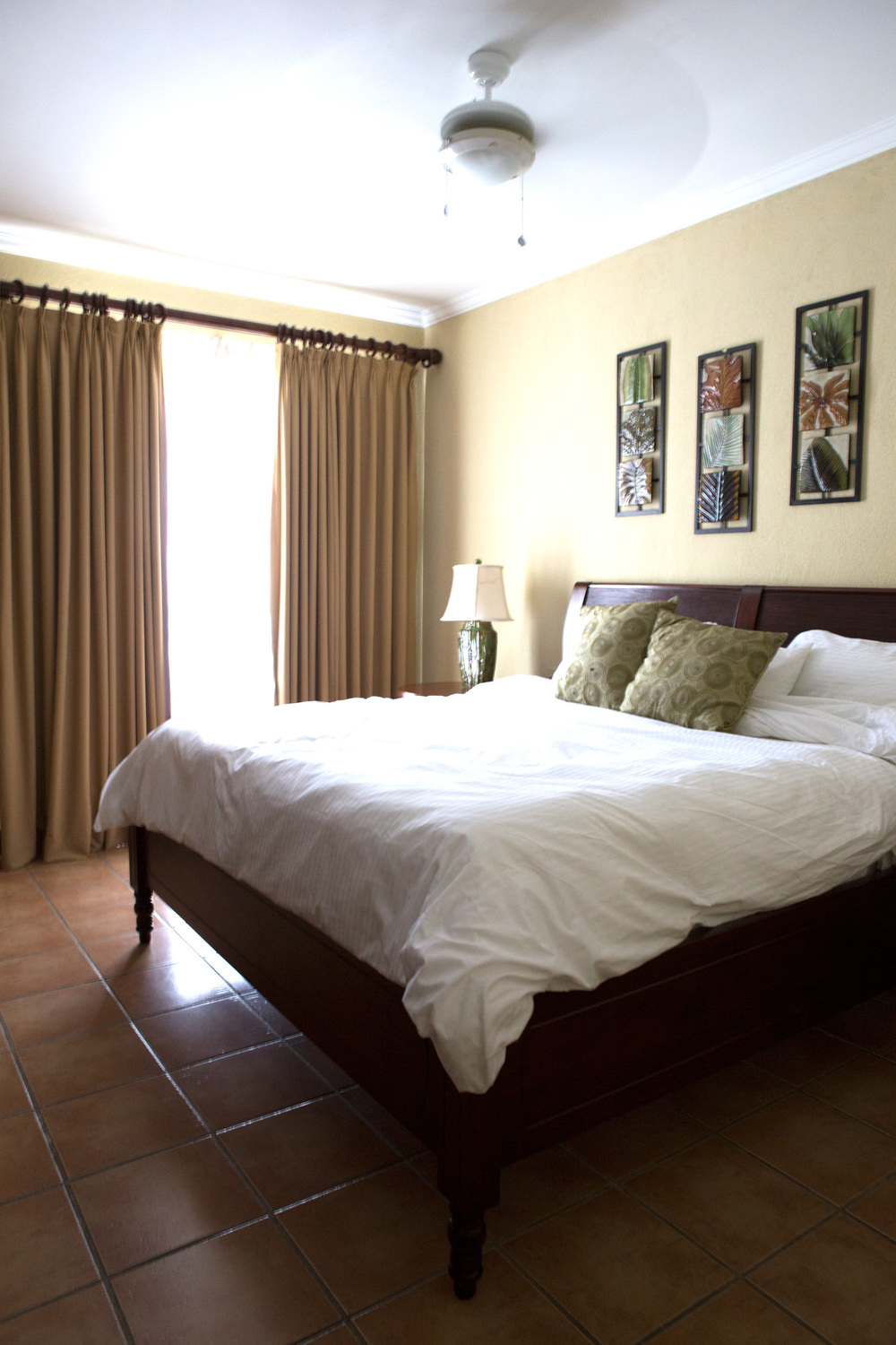 Master Bedroom at Reserva Conchal, Costa Rica