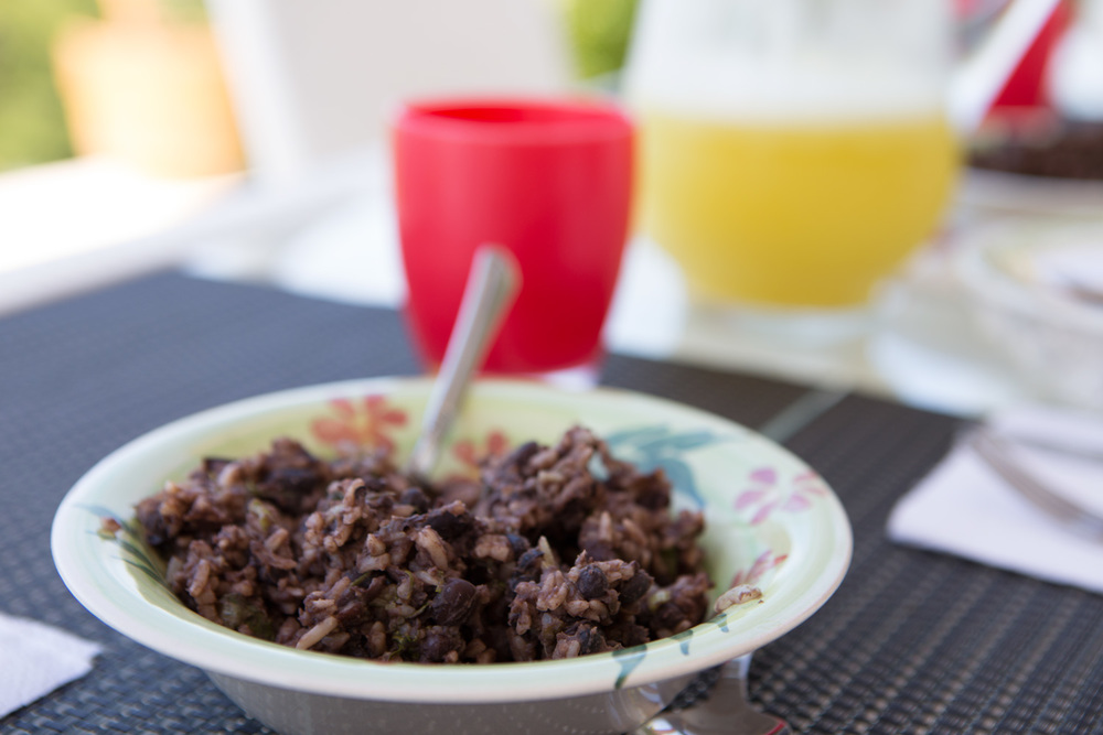Gallo Pinto breakfast dish