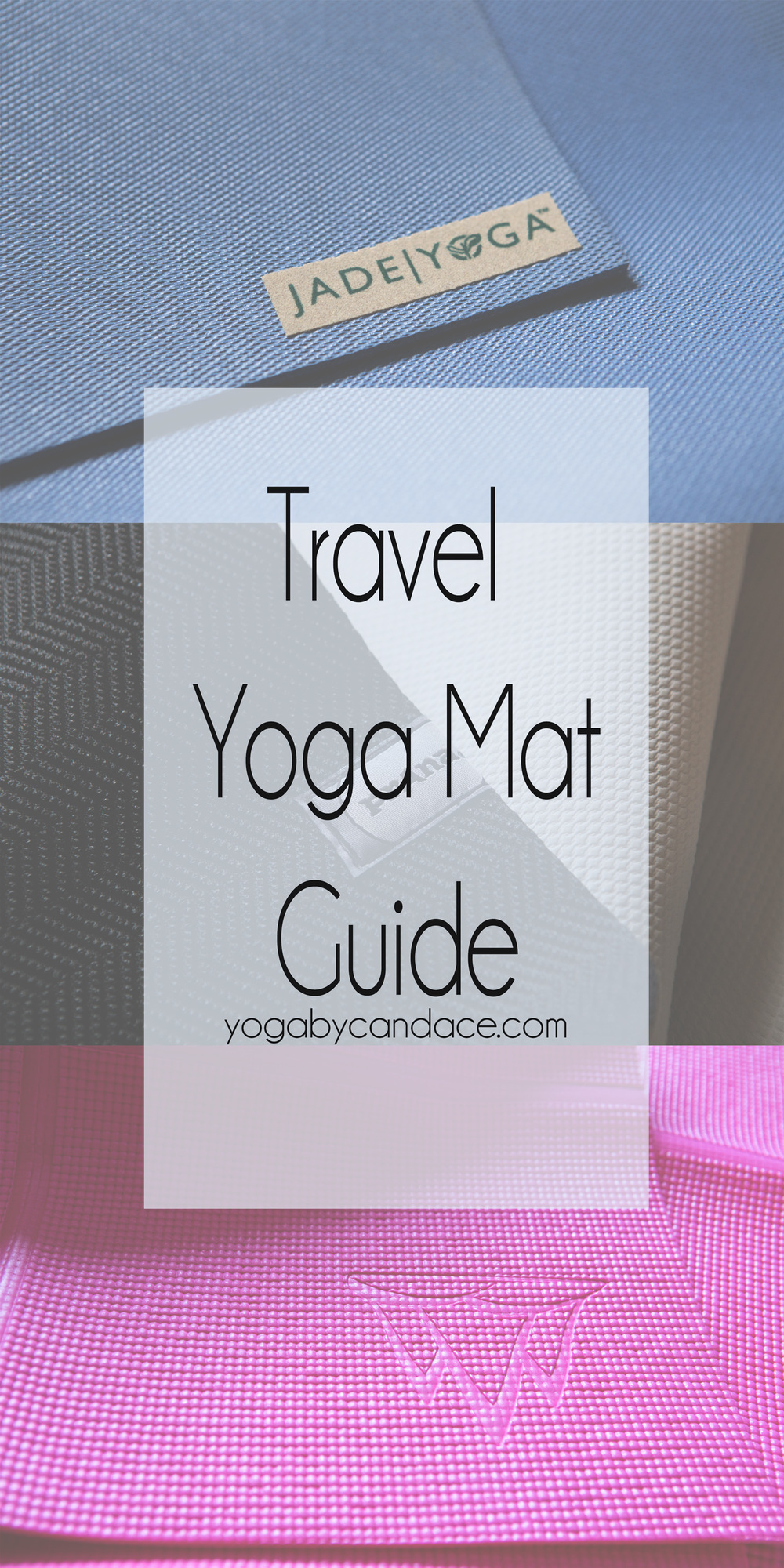 Pin now, read later! Discover three of the top travel yoga mats!  Featuring:  jade yoga ,  prana  and  khataland