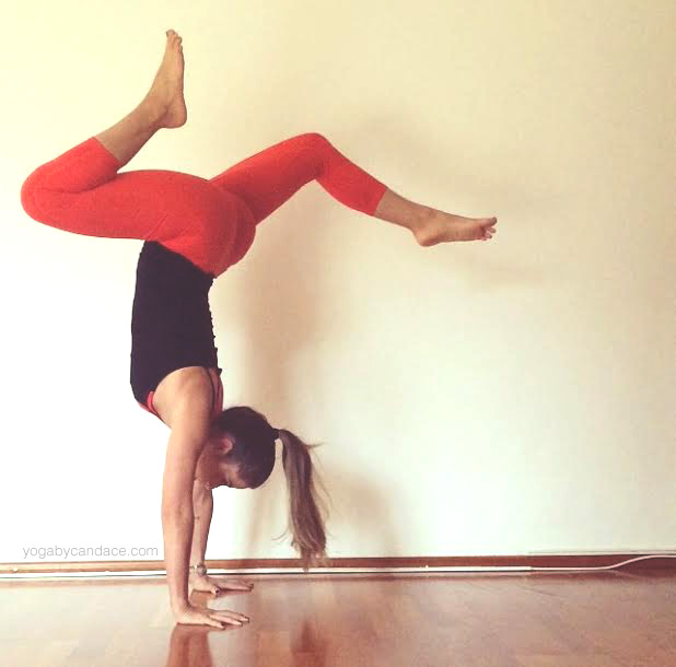 Pin now, practice later! Yoga blog. Wearing: Athleta pants (diff color), alo bra.