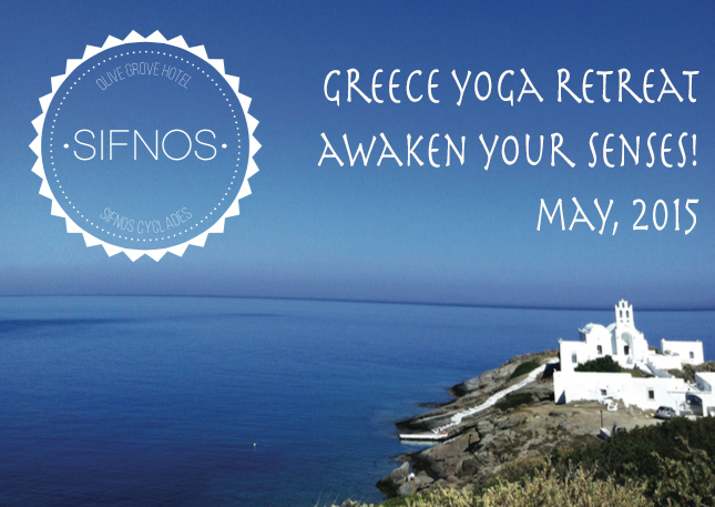 Pin it! Not one, but TWO yoga retreats in Greece in May 2015