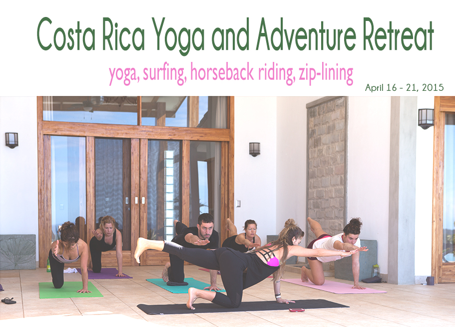 Yoga and adventure retreat in Costa Rica