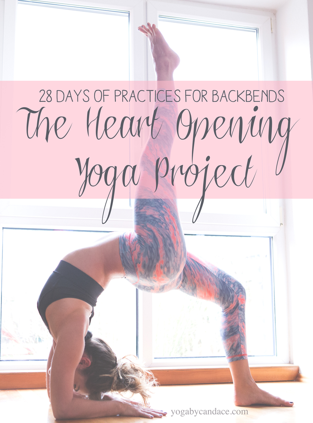 Pin now, practice later! 28 Day heart opening yoga project.  Wearing:  Liquido Active pants ,  Alala bra .