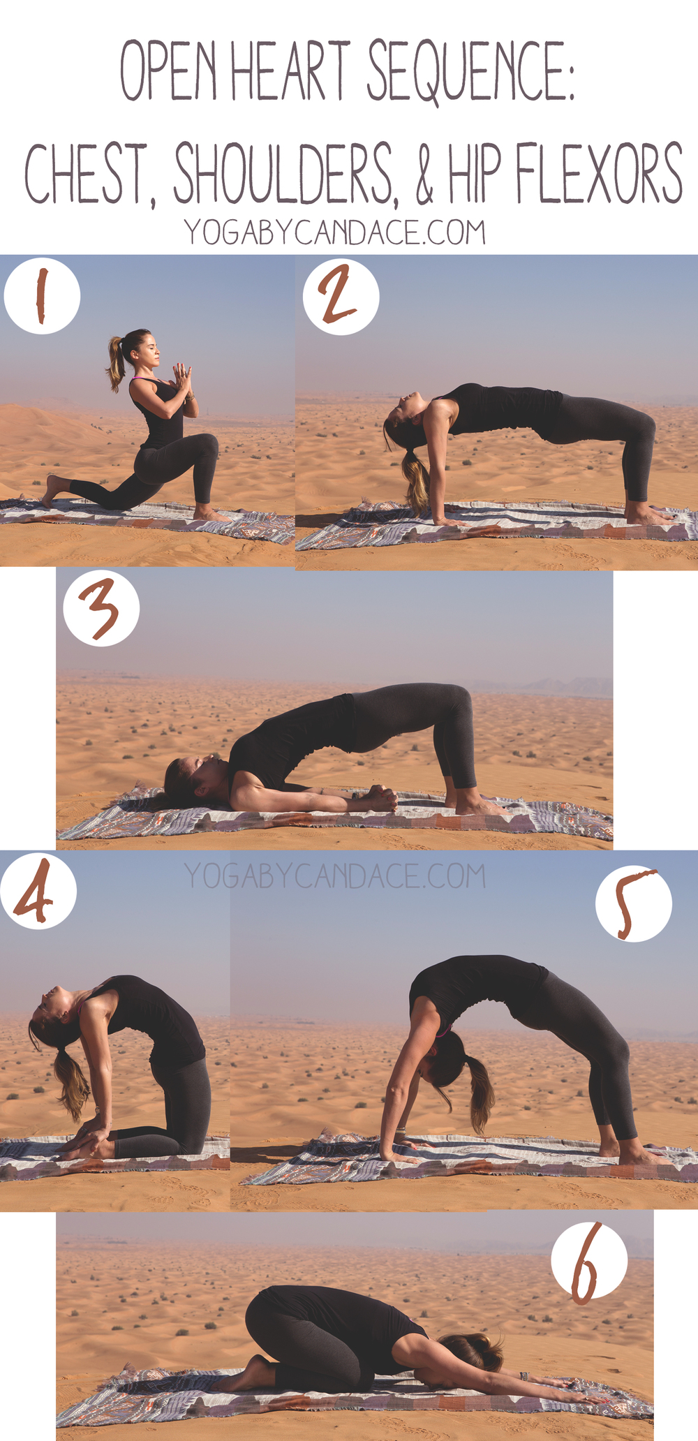 Pin now, practice later! Open heart yoga sequence. Wearing: f21 leggings, splendid top. Using: zara scarf as mat (similar)