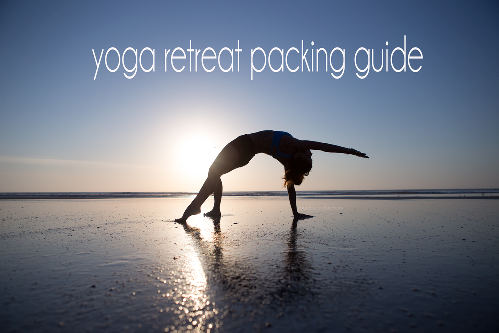 Pin it! What to pack for a yoga retreat