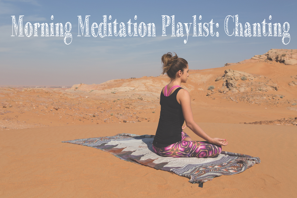 Pin now, practice meditation later with this meditation playlist. Wearing: splendid top, lululemon bra, koral leggings. Zara scarf (similar)