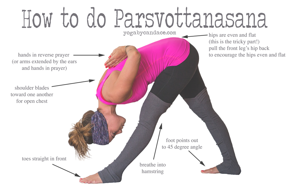Pin now, practice Parsvottanasana later (great for the hamstrings!) Wearing: alo leggings, lululemon tank, sweaty betty headband