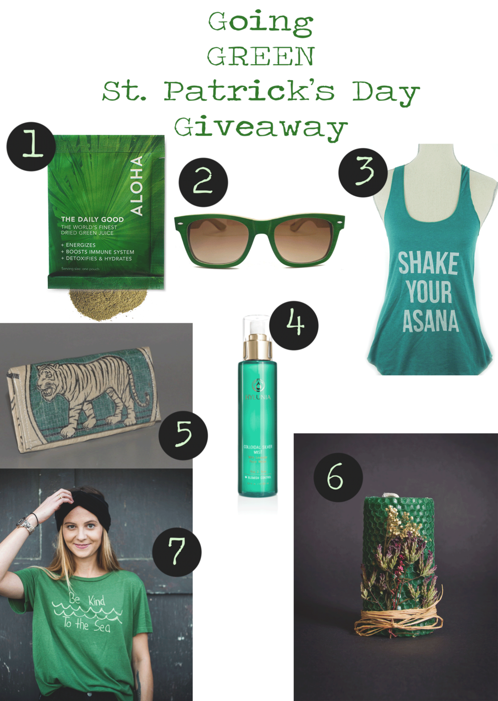 St Patrick's Day giveaway!
