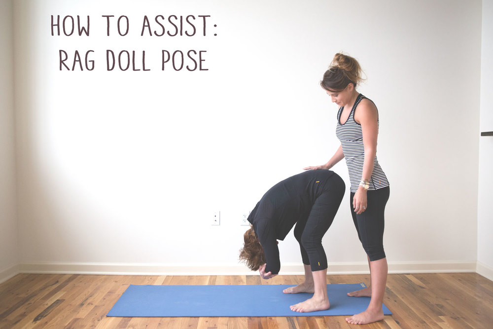 How to assist rag doll pose