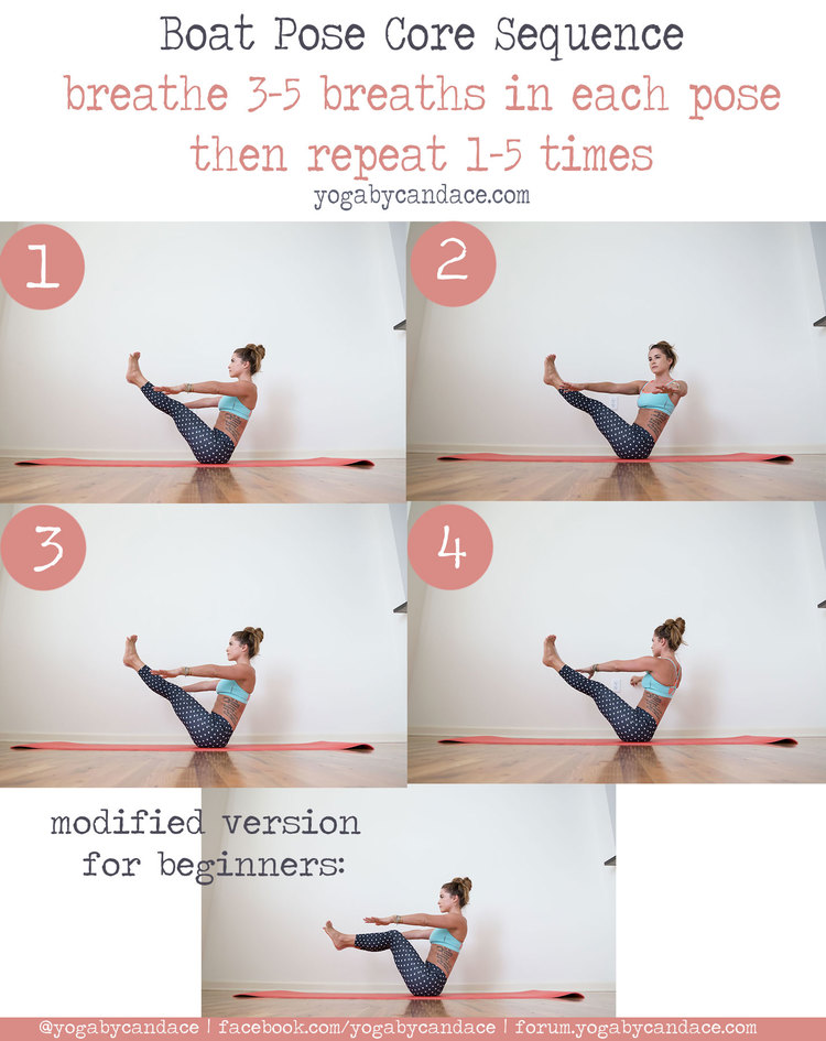 Pin Now Strengthen The Core Later With This Boat Pose Sequence Wearing Kira