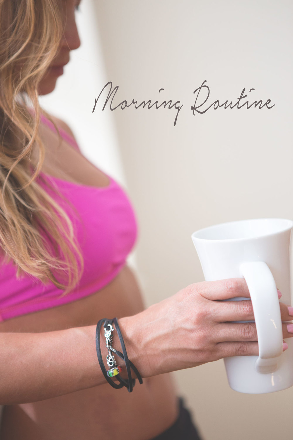 Wearing:  lululemon bra ,  trollbeads bracelet  c/o (save 20% with code: IAmCreative)  Pin now and share your morning routine!