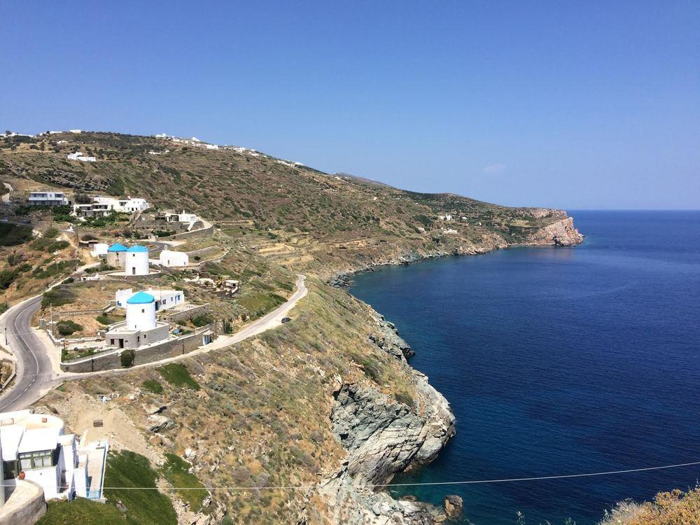 Overlooking Kastro, Sifnos.