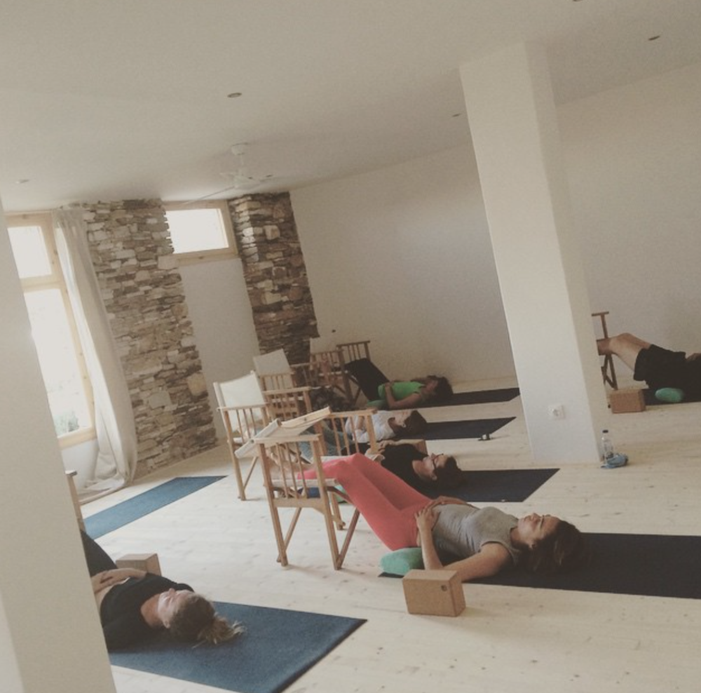 chair yoga workshops