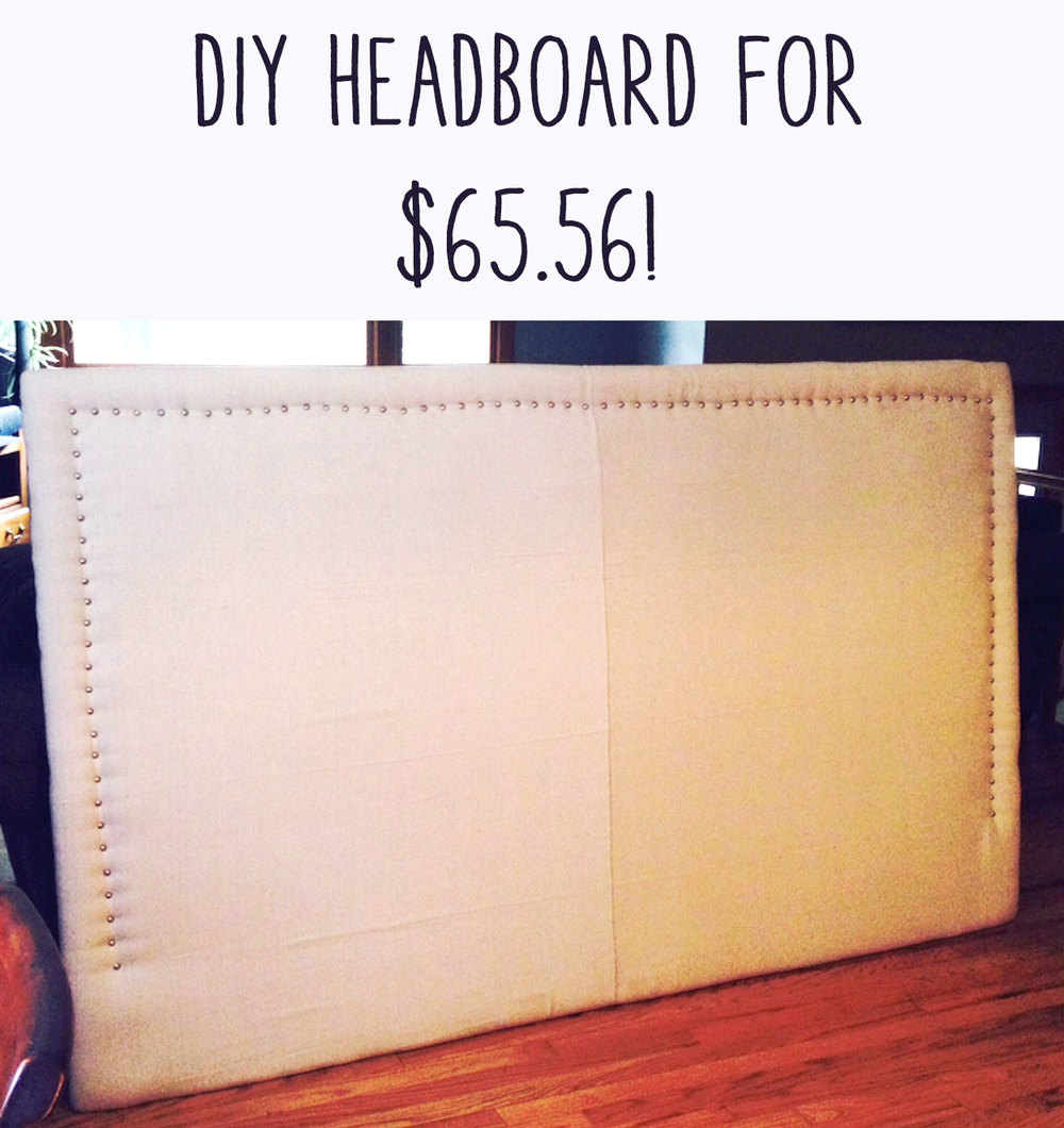 Pin now and make your own headboard!