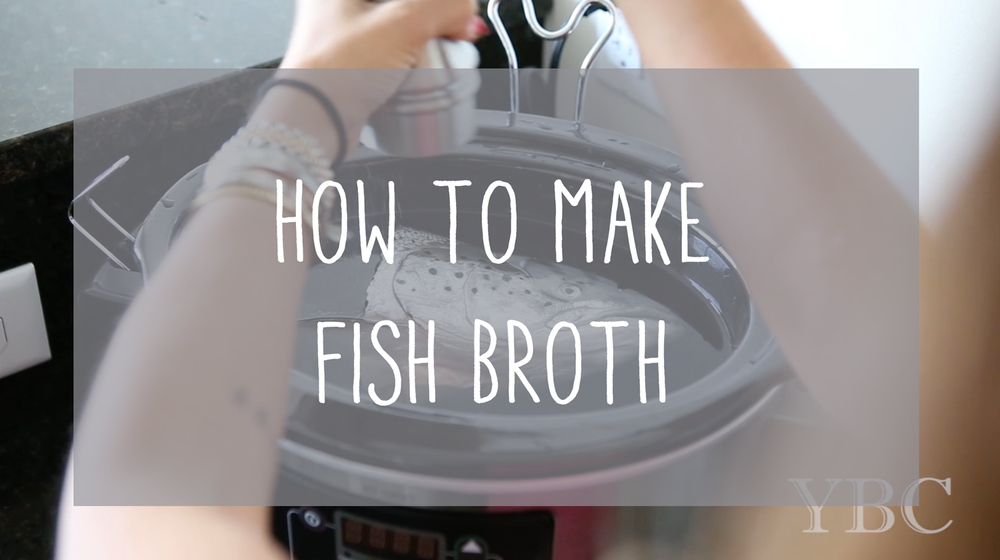 Pin now! How to make fish broth. #GAPS #PALEO