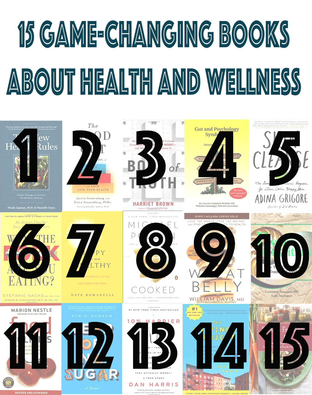 Pin now, read later! 15 game-changing books to help you on your path to health and wellness