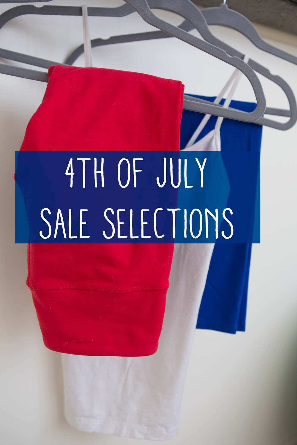 Sale selections - time to shop!