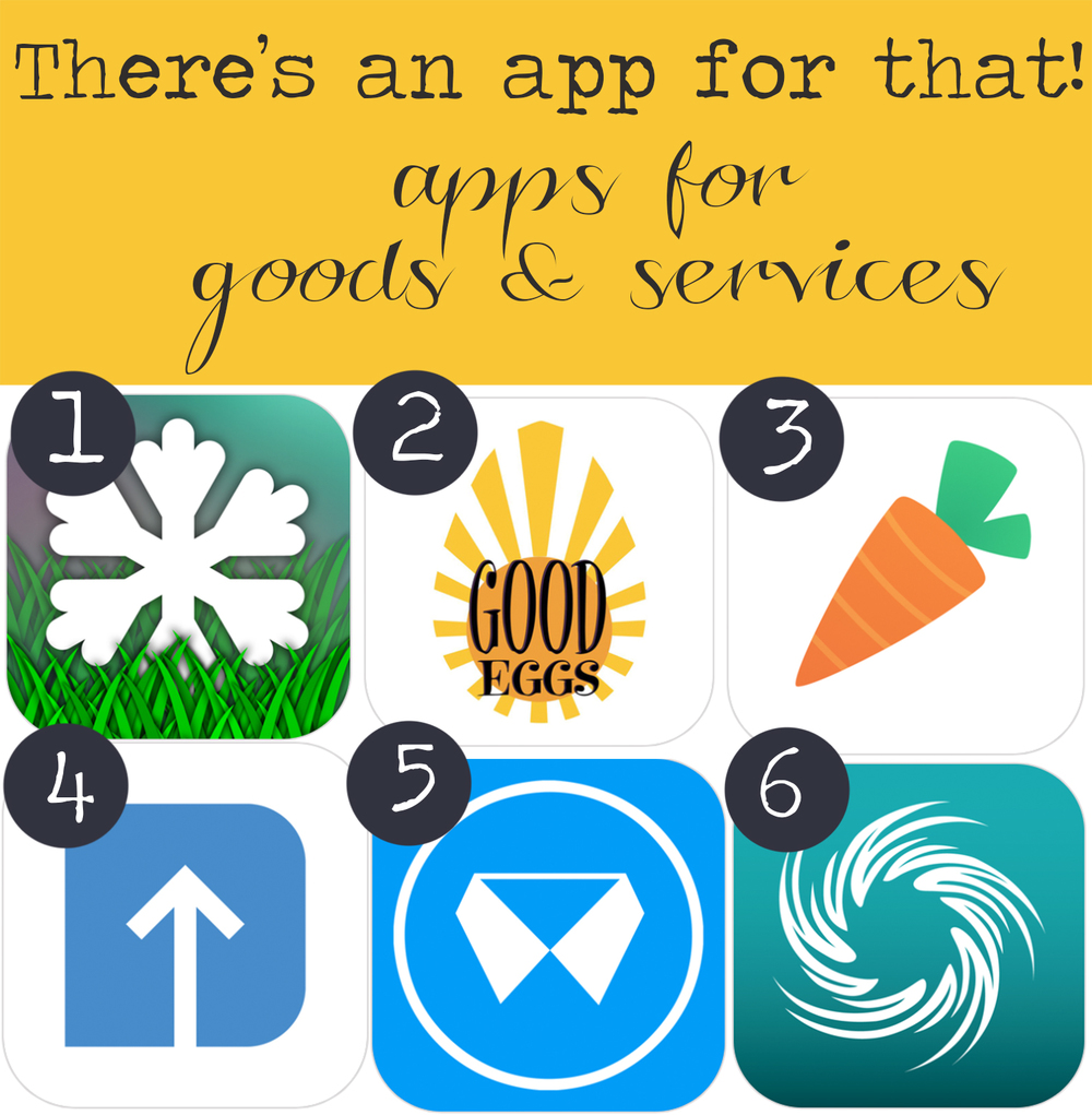 Pin now and read later! The best apps for goods and services!