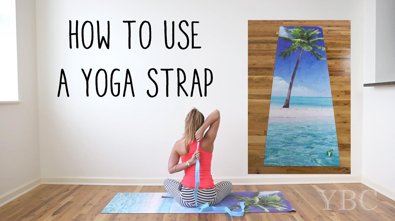 9663640210 20 Minute Yoga With a Strap to Open Chest and Legs — YOGABYCANDACE