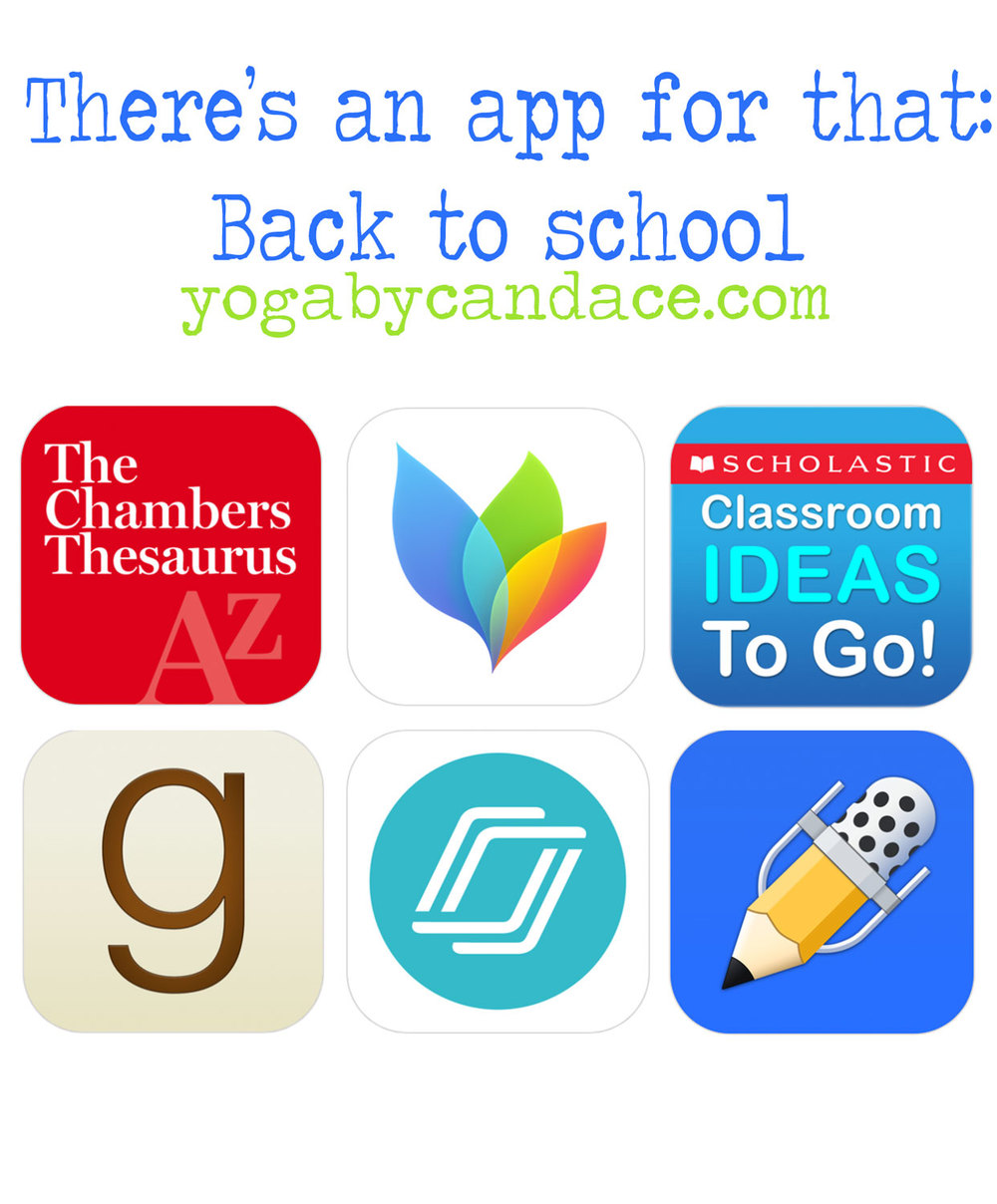 Pin now, and download later - back to school apps