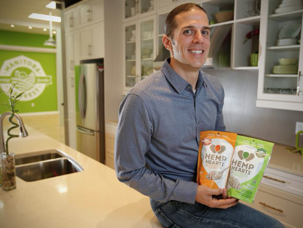 Mike Fata, CEO & Co-Founder of Manitoba Harvest