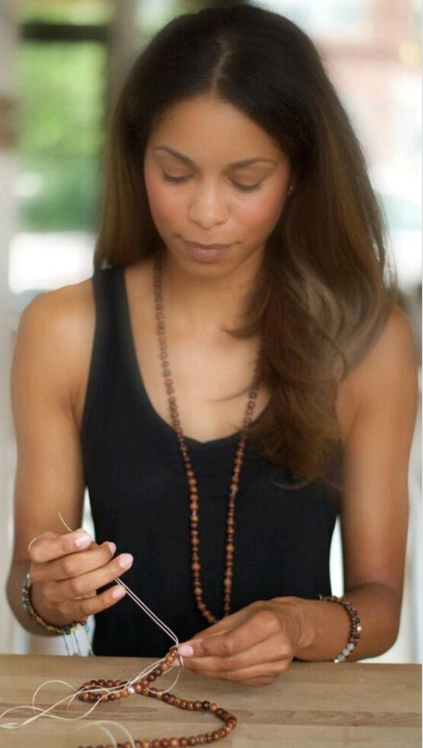 Free Soul Malas founder Leah Brathwaite