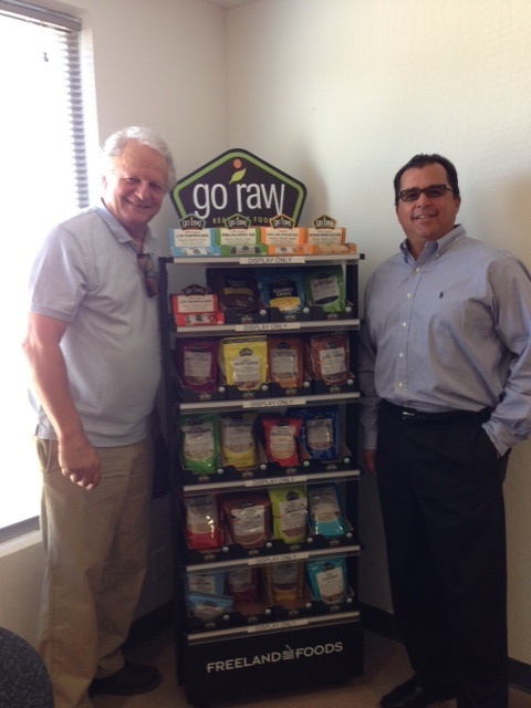 Robert and Uri Freeland, Founders of Go Raw