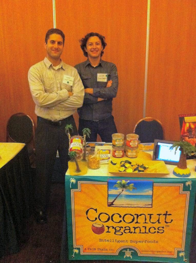Coconut Organics founder George Metrik