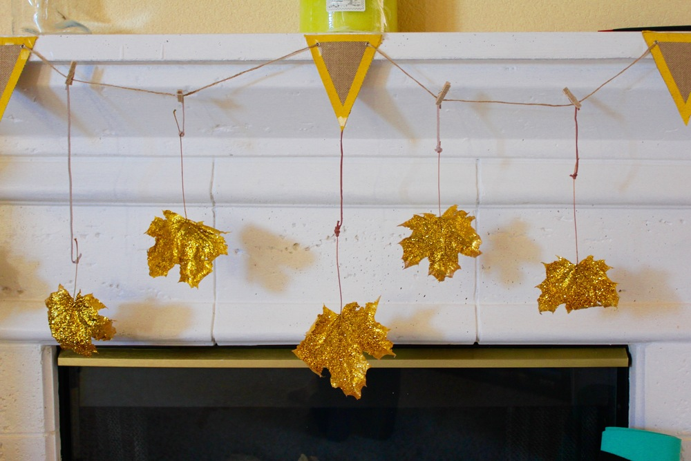 DIY fall garland - pin now, make later