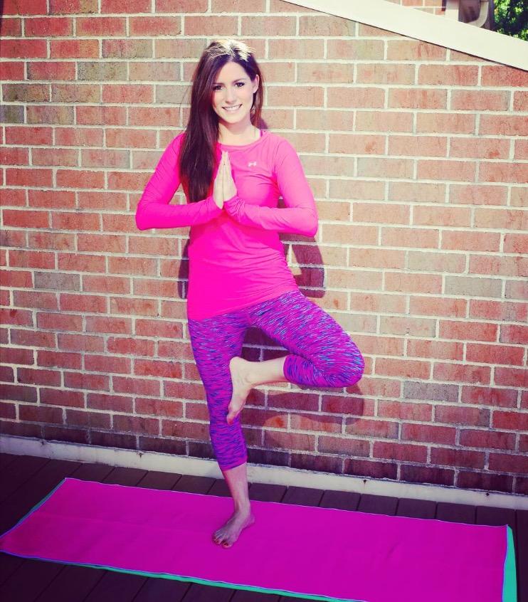 YogaBrights founder Linda Hamilton