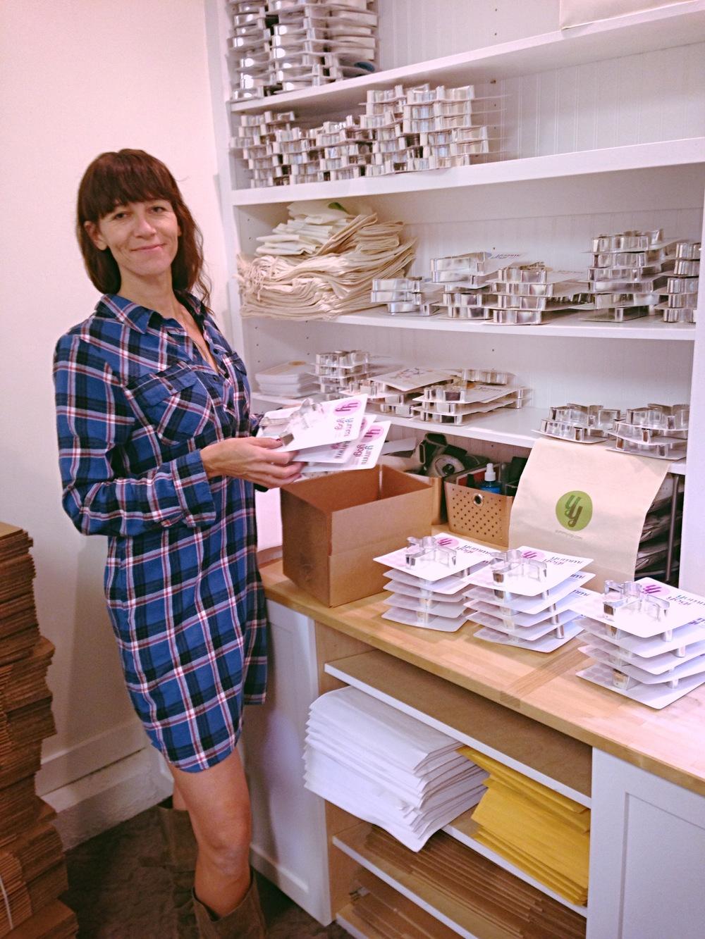 Yummi Yogi founder Amy Dube