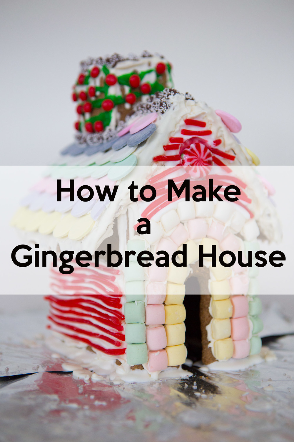 Pin now, and watch our tutorial on how to make a gingerbread house