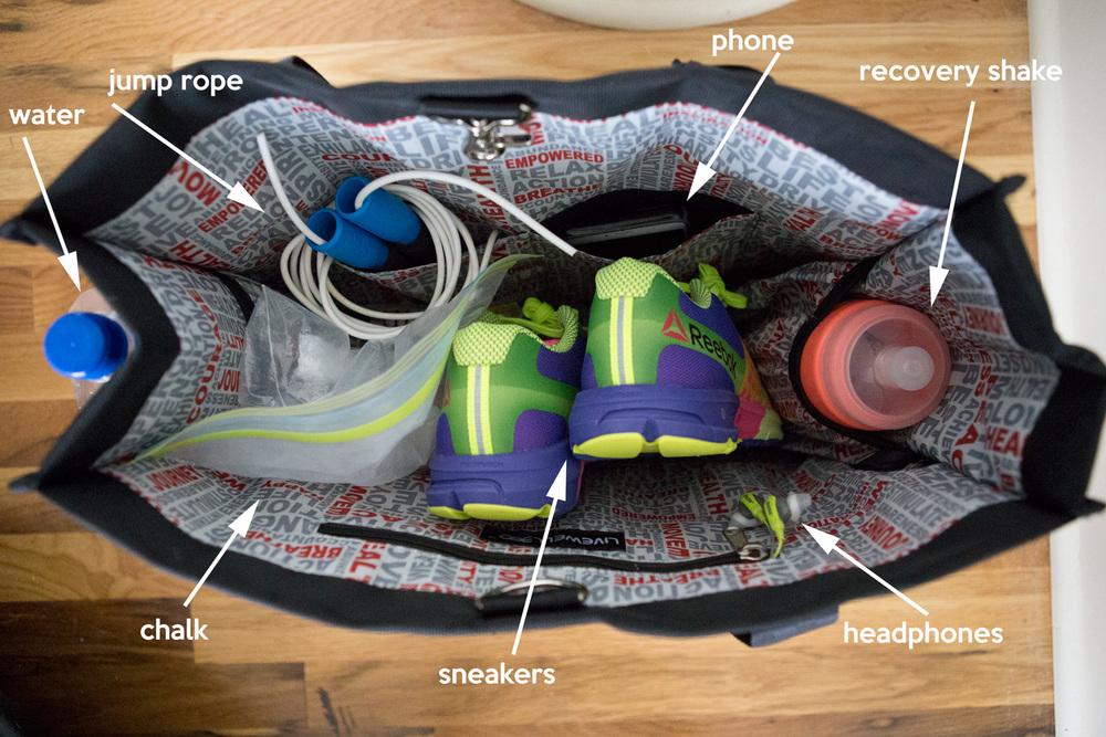 My gym stuff