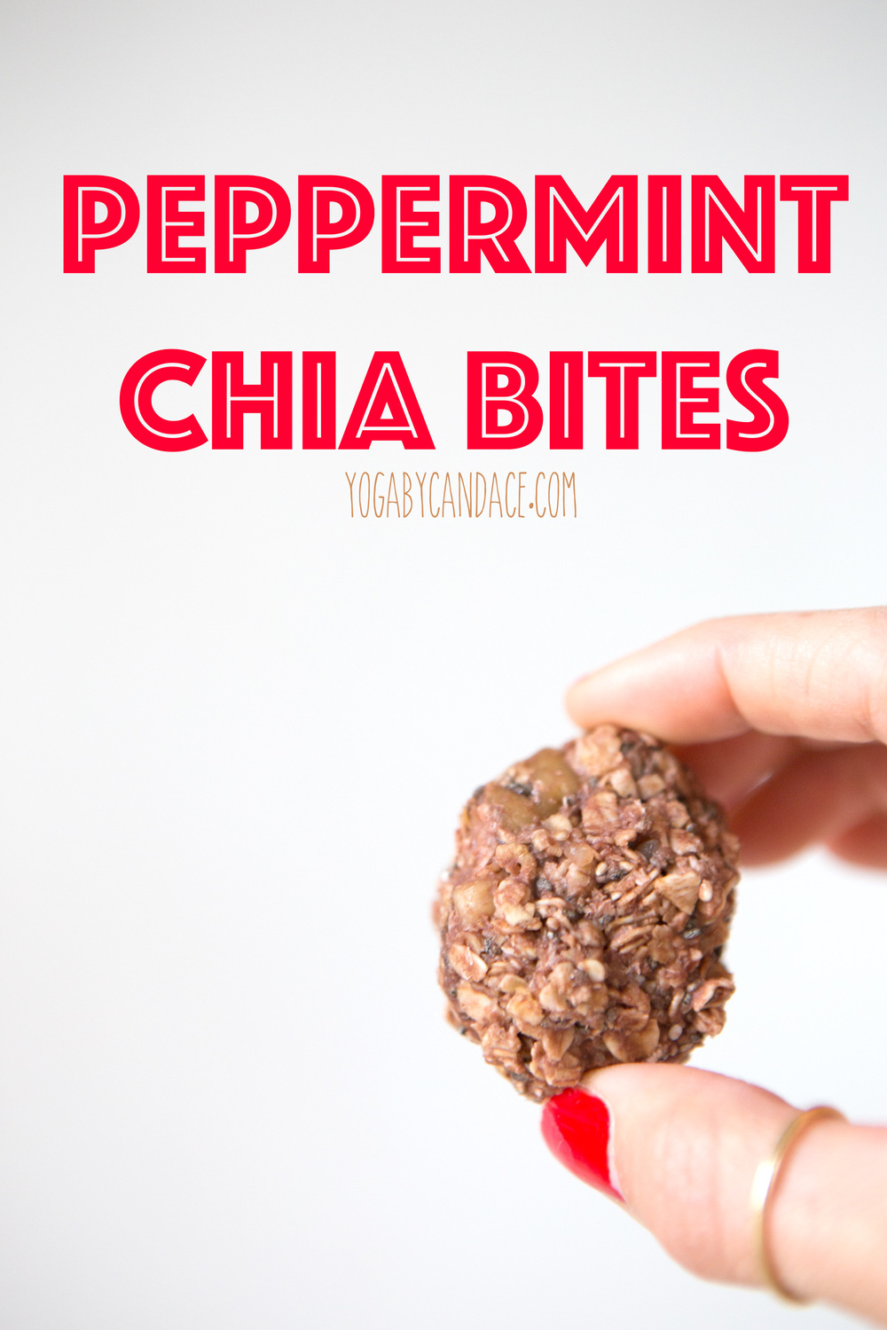 Pin now, make them later! Peppermint Chia Bites!