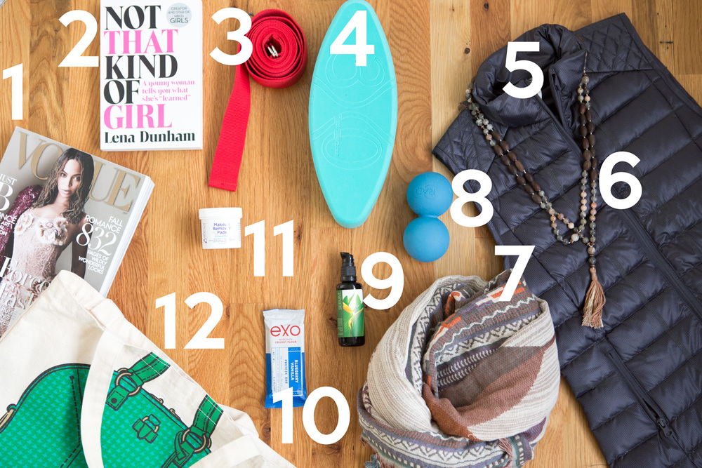 What's in my yoga bag