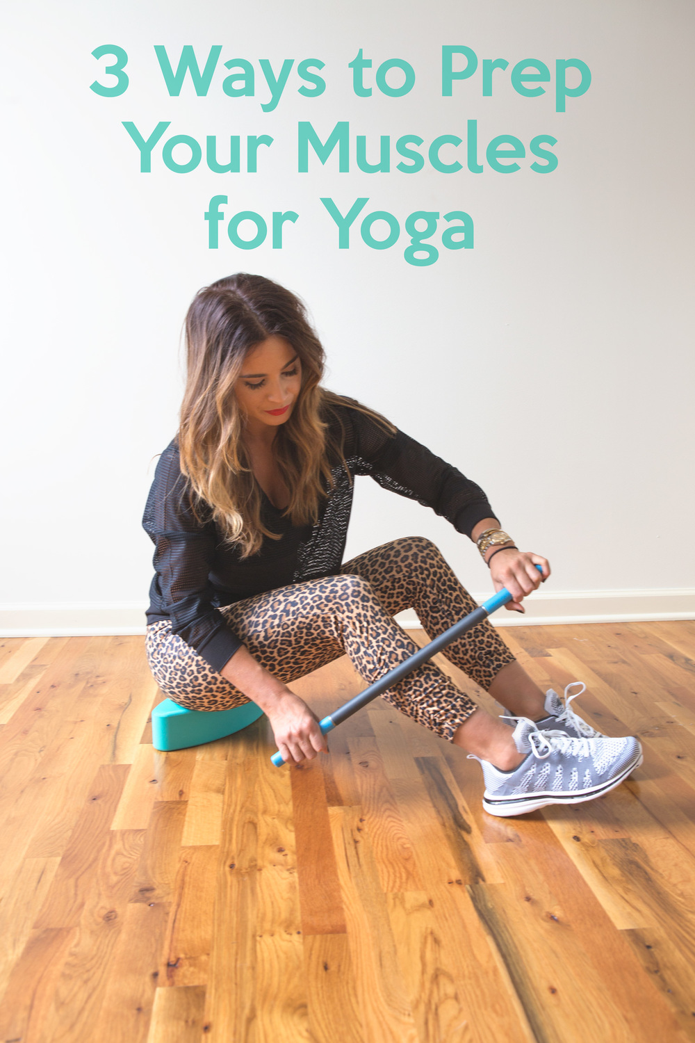 Pin now! 3 ways to prep the body for yoga