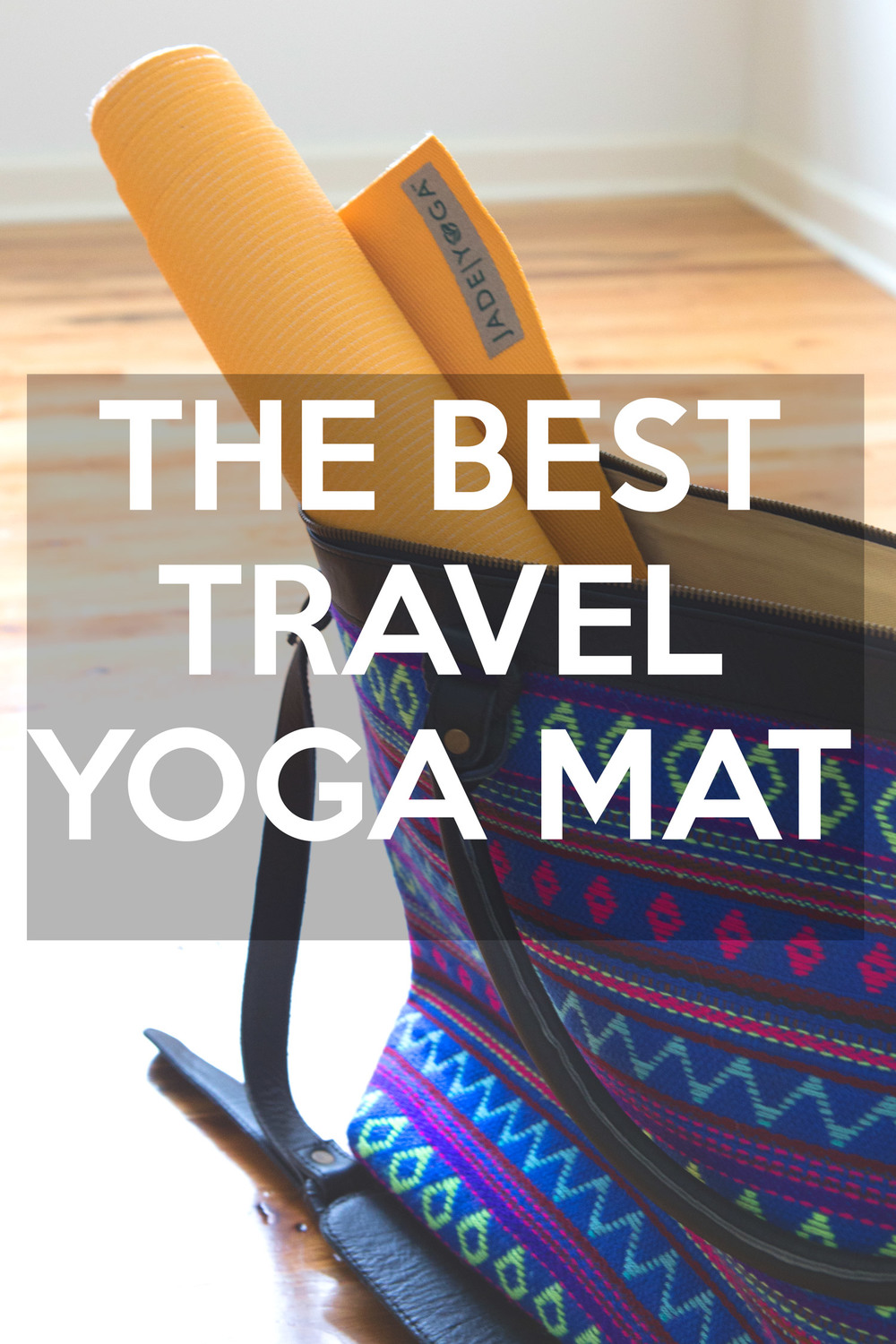 Best  travel yoga mat  - pin it