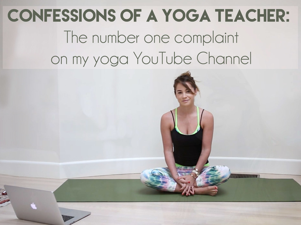 Pin now, read later. The number one complaint on my yoga YouTube channel