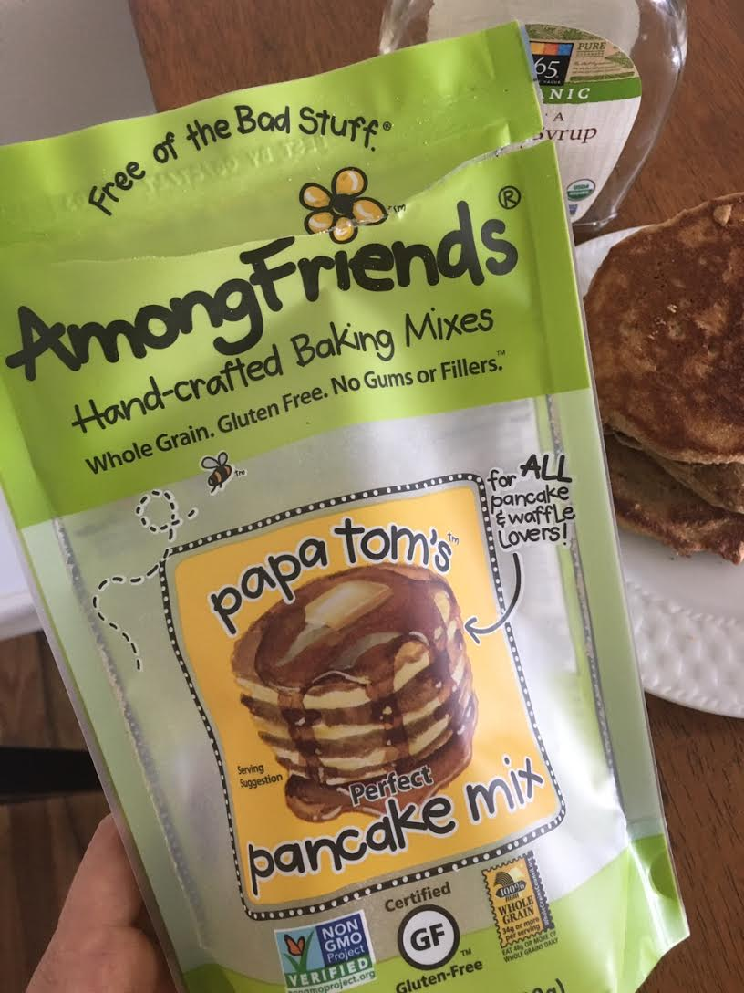 Among Friends perfect pancake mix
