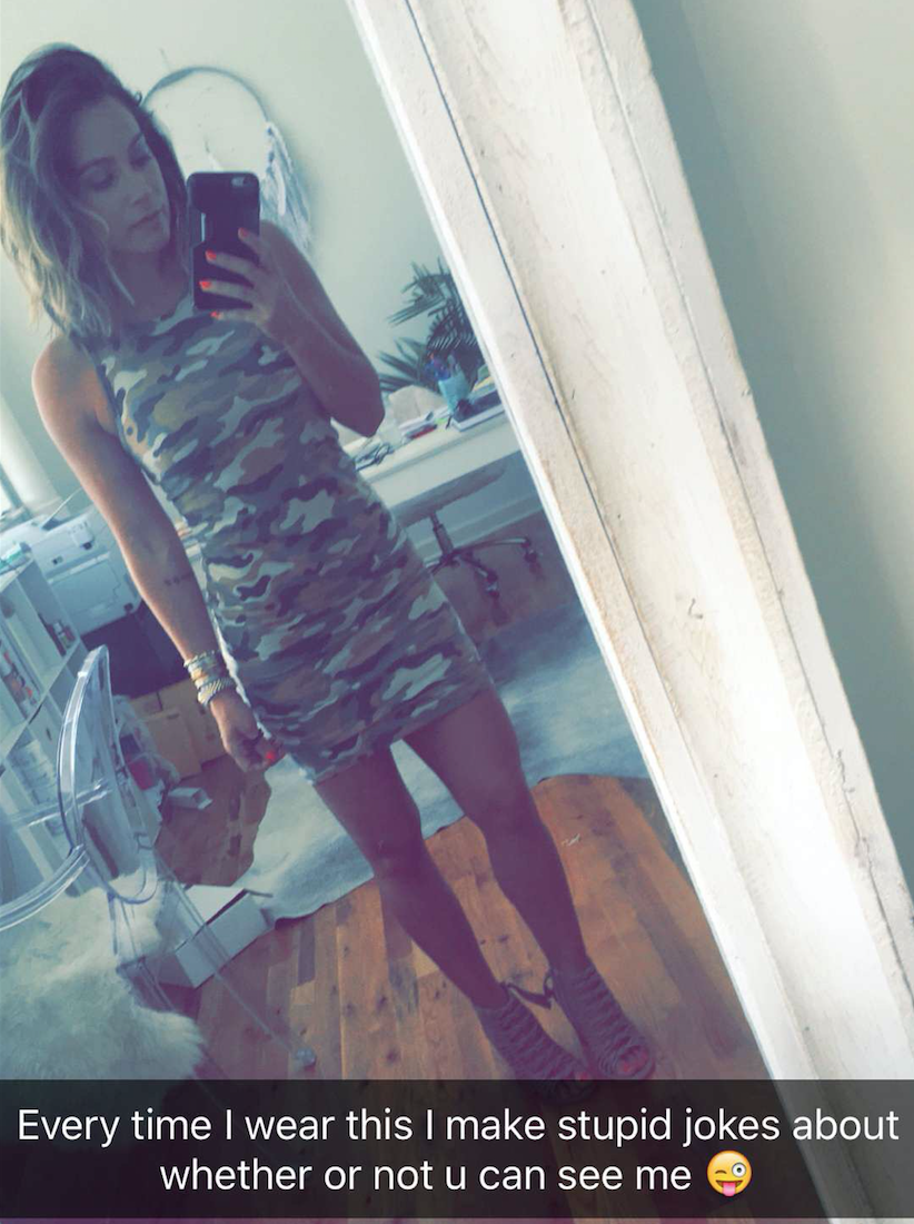 Wearing: Forever21 dress.