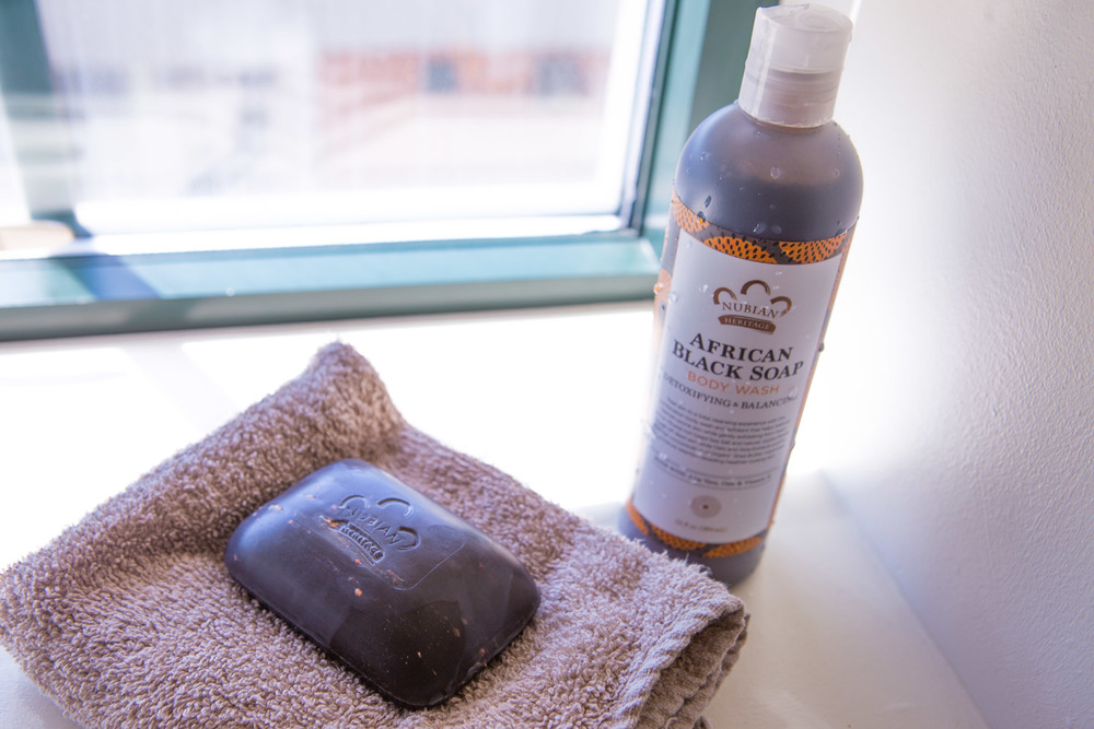 Nubian Heritage African Black Soap and Body Wash